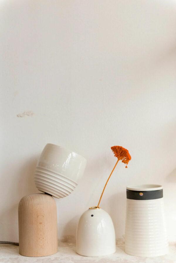 Godet Ambre Ceramique