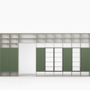 Meuble TV / bibliothèque Novamobili
